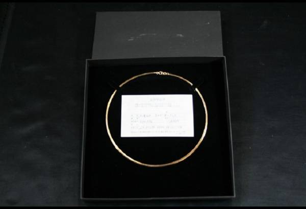 オメガネックレス K18 WG 11g 約40cm 保証書付